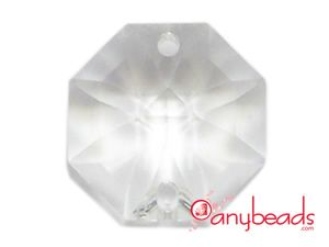 Swarovski Crystal Strass 8116 Octagon Pendant 14mm in Clear Crystal  #Swarovski #Strass #Crystal #8116 #Pendant #jewelrysupplies #anybeads