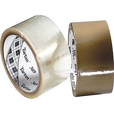3M Scotch 369 Tape,  2in. x 110 Yds., Tan (48 mm x 100 m), 1.6-mil, Tan $4.16 Item: 686524    Model: 111-369-2110-T