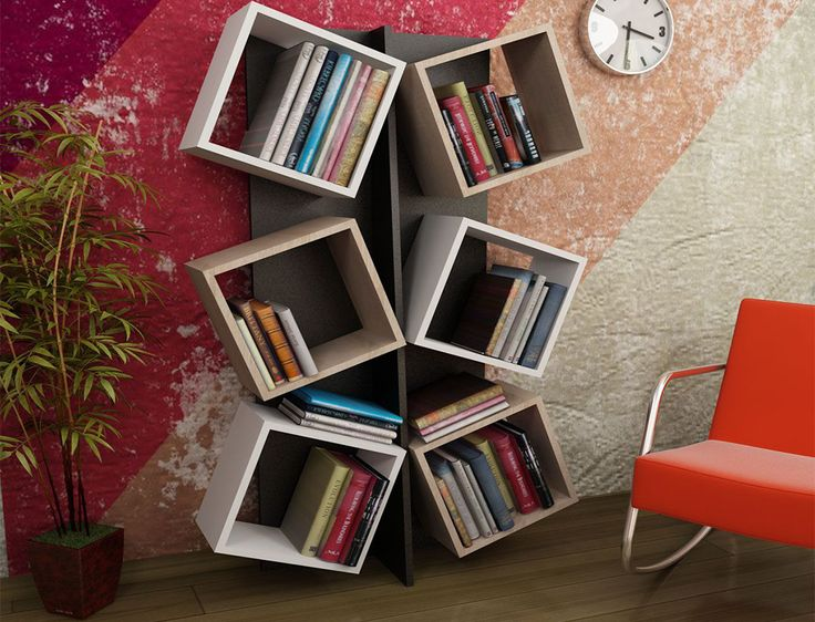 Description A Contemporary Bookcase Featuring Stylish Shelving For Your Books And Items Specifications Material
