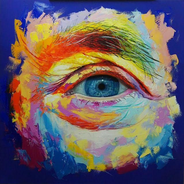 Óleo sobre lienzo 100×100 cm by Patricia Vesga PAVES