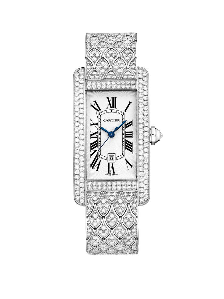 The Social Butterfly Gift Guide - Cartier gold and diamond watch, $130,000, cartier.us.