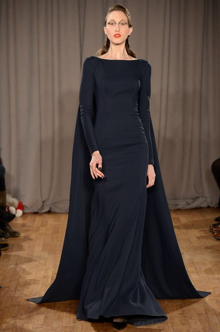 Zac Posen Fall 2014 RTW - Review - Fashion Week - Runway, Fashion Shows and Collections - Vogue