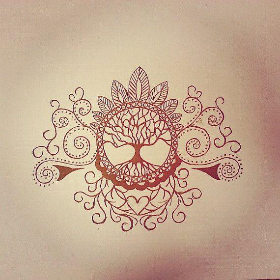 Tatouage de l'arbre de vie