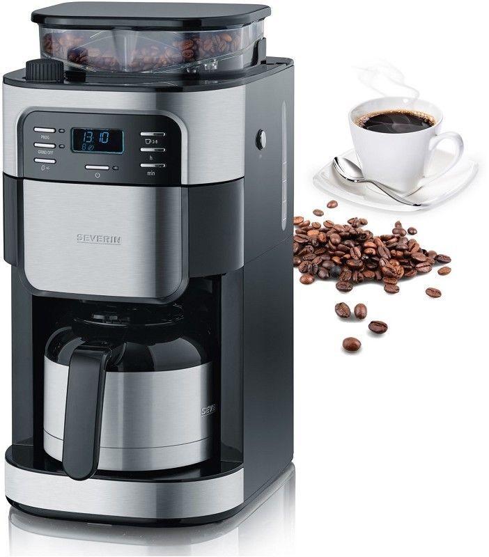 Severin Kaffeemaschinen Ka4812 Kaffeemaschine Mit Mahlwerk Kaffeemaschine Kaffee Und Kaffeeautomaten