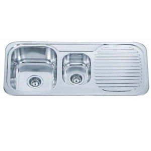 OK so you want to buy a kitchen sink and all the sinks have these numbers but what do the numbers mean? Could they mean the weight in kgs that you can pile the dishes up before washing them divide by the maximum number days you can leave dirty dishes…. are you also confused? Never fear, here is a very simple explanation.