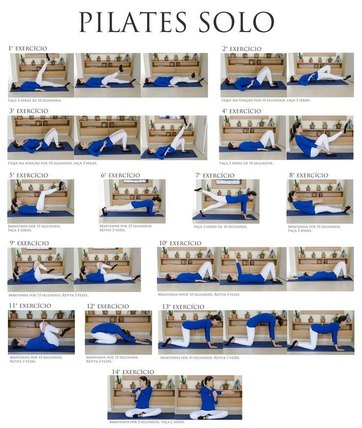 PILATES SOLO- O pilates proporciona a tonificação do corpo e sua flexibilidade trabalhando com força e alongamento de forma integrada. Seus benefícios são vários, melhora a coordenação motora, a postura corporal, a capacidade cardiovascular e respiratória e o condicionamento físico e mental. Proporciona força e elasticidade muscular, o equilíbrio corporal. Além de tudo isso relaxa e diminui o stress.