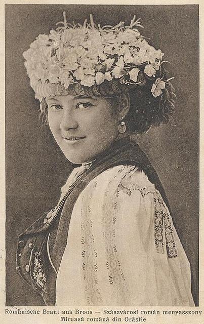 Szászváros pretty Romanian bride  Broos - Orastie