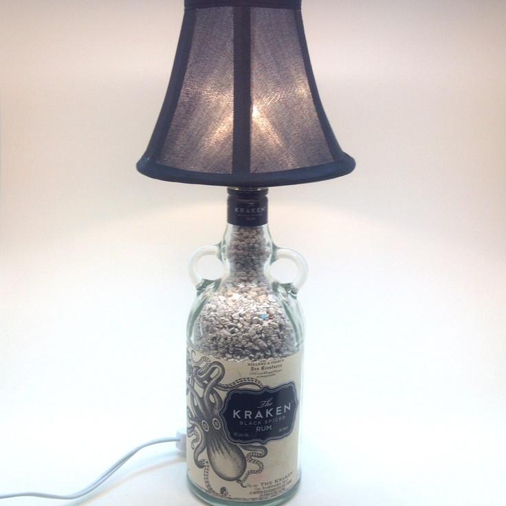 12 Best Single Bottle Lamps Images On Pinterest