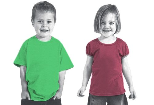 Kids clothing For Boys & Girls 100% organic cotton jersey