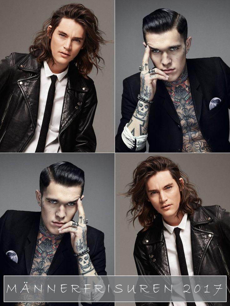 Sind Man Buns auch 2017 noch angesagt und werden wir wirklich häufiger auf Männer mit Rainbow Hair stoßen? Holt euch hier schöne Inspirationen für Männerfrisuren!Welche Haarfarben auf den Köpfen der Frauen gerade angesagt sind, erfahrt ihr hier: Haarfarben Trends 2017