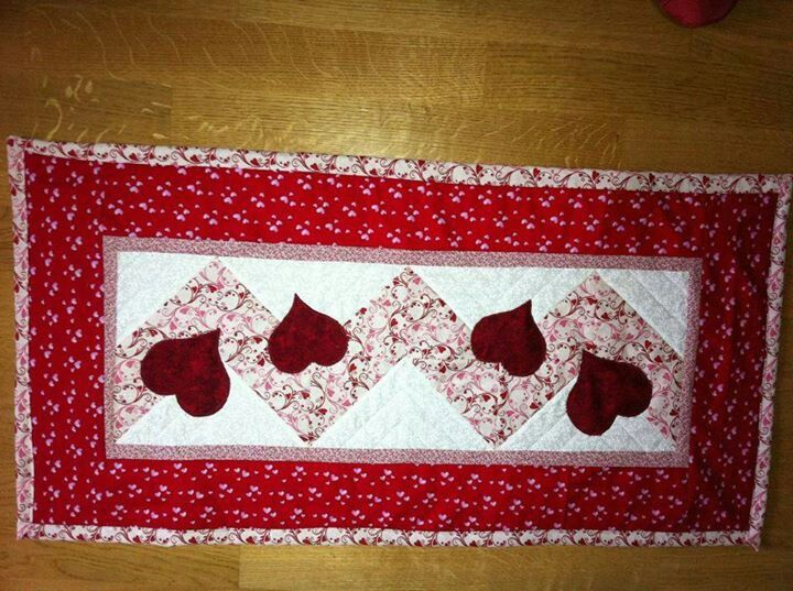 Valentine Runner Quilted Table Runners Placemats