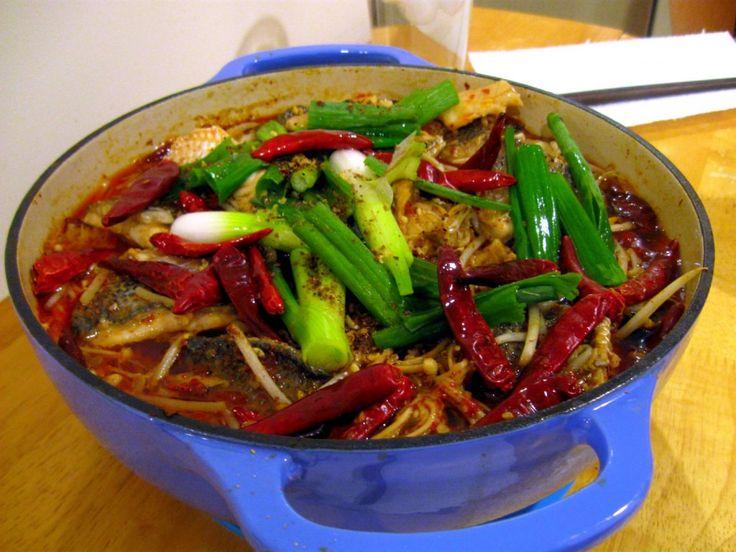 Water Cooked Fish (Shui3Zhu3Yu2 水煮魚)