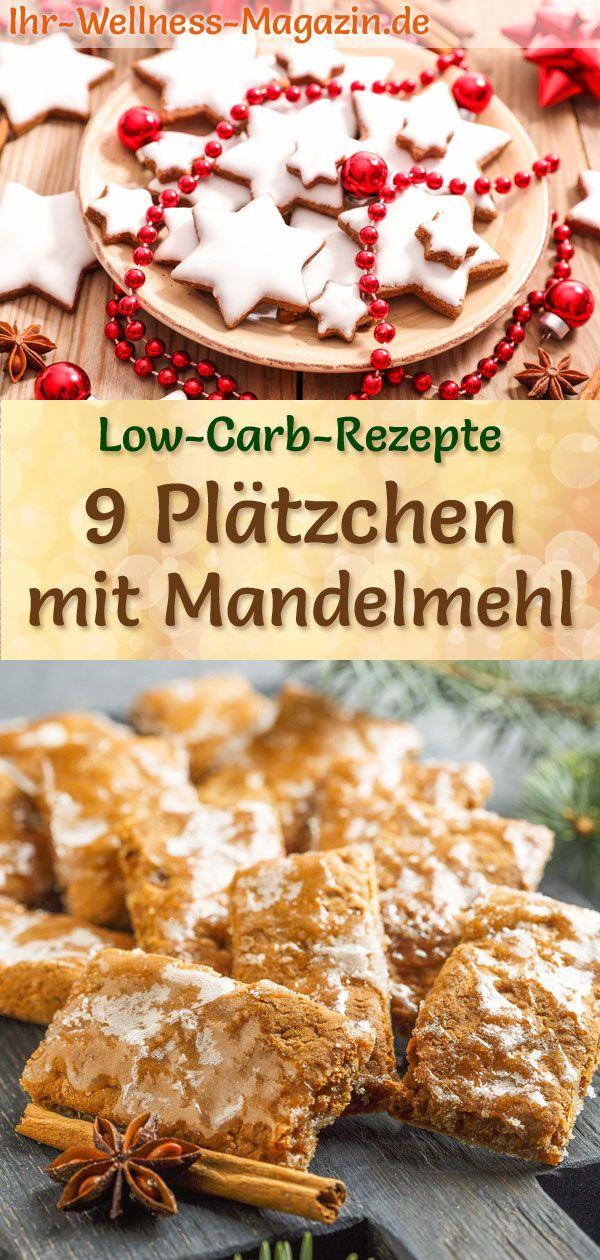 Weihnachtskekse 2019.9 Plätzchen Rezepte Mit Mandelmehl Low Carb Einfach Ohne Zucker