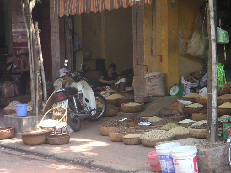 Hanoi: pulses galore.