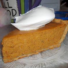 Perfect Pumpkin Pie Recipe - Allrecipes.com