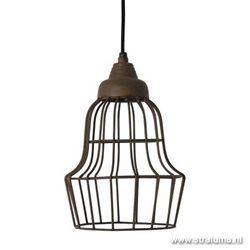 Hanglamp landelijk roest-bruin keuken-wc