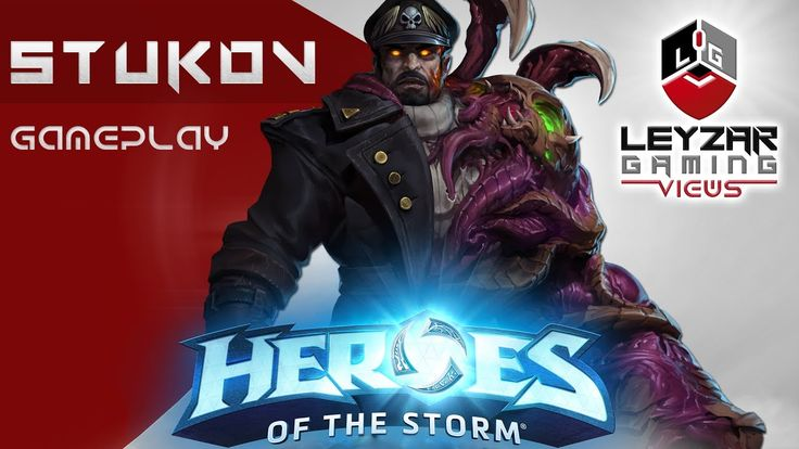 Heroes of the Storm (Gameplay) - Stukov First Impression (HotS Stukov Ga...
