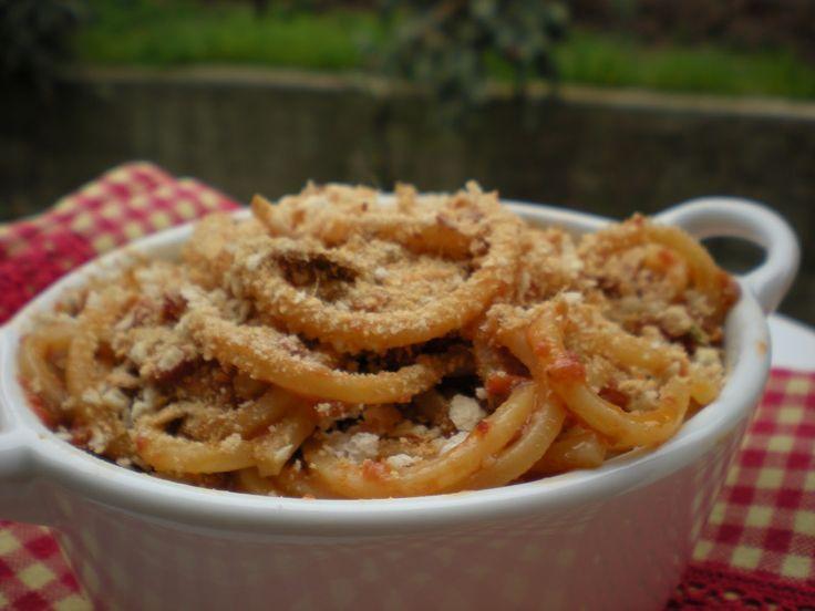 spaghetti alici e finocchietto alla siciliana