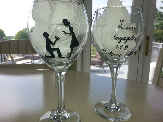 1000 Images About Wine Glasses On Pinterest Painted