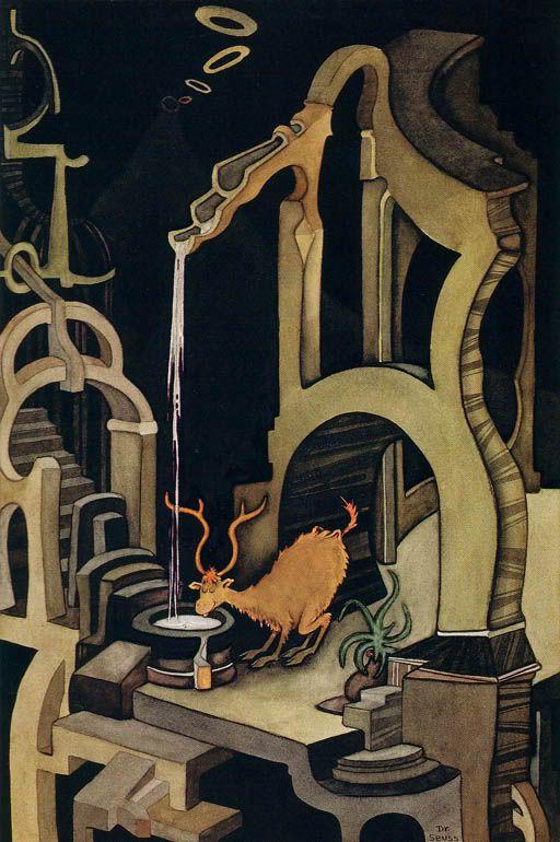 'The Stag at Eve,' 1960    TM & © 1995 Dr. Seuss Enterprises