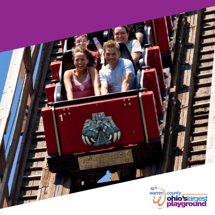 The perfect blend of thrill and chill! Book your Kings Island Vacation package today for a great bargain on Kings Island tickets and a relaxing stay at your choice of 17 area hotels. You also get admission to King's Island's Soak City water park!