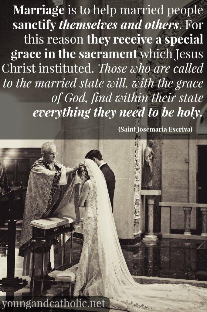 Matrimonio sagrado catolico