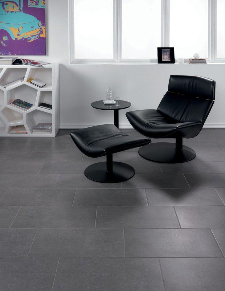 Pukkilan Nordic-malliston seinä/lattialaatta Nero 30x60. Luja keraaminen laatta soveltuu lattia- tai seinäpinnoille ja teknisiltä ominaisuuksiltaan se käy myös ulkotiloihin.