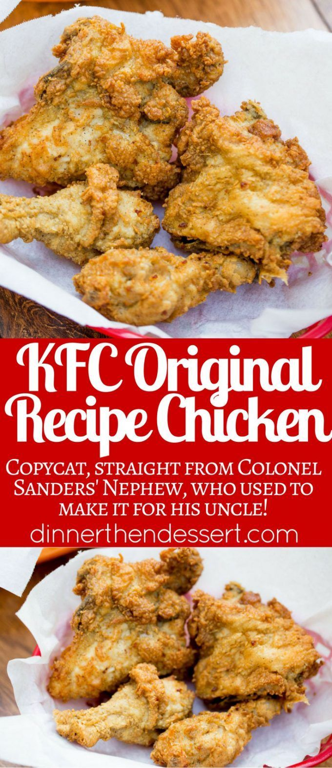 KFC Original Recipe Chicken decoded by a food reporter and republished with all…