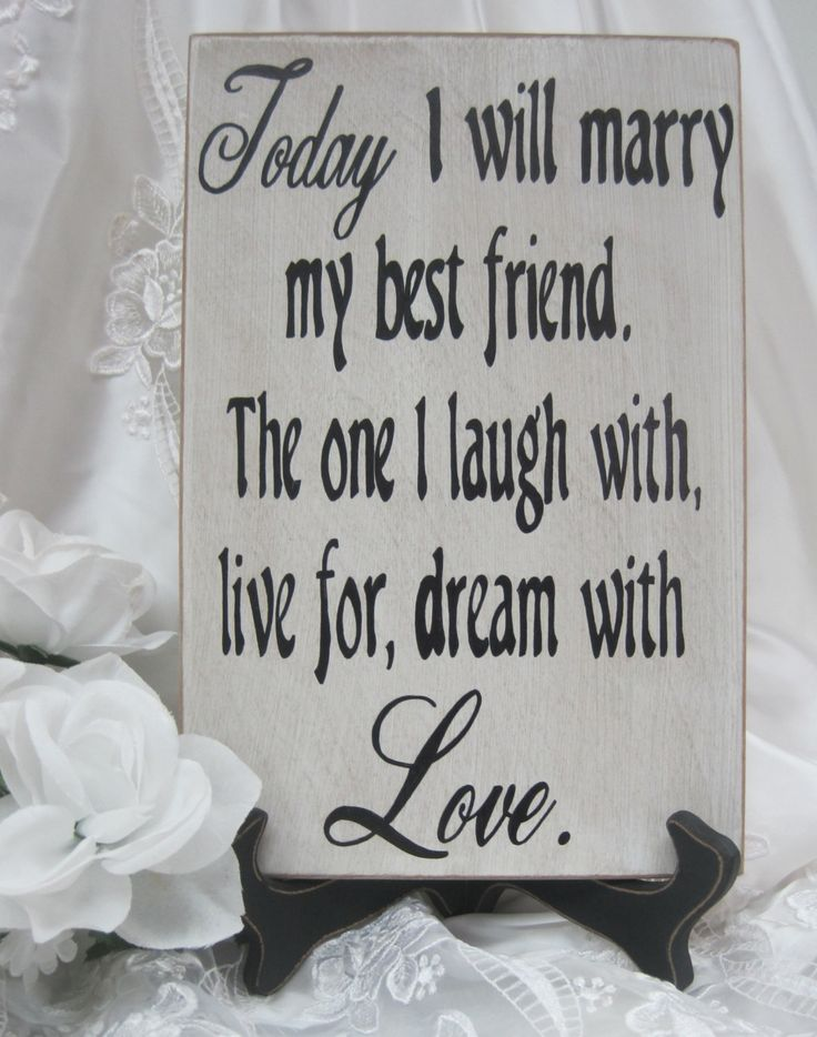 Rustic Wedding Sign Marry my Best Friend by dlightfuldesigns