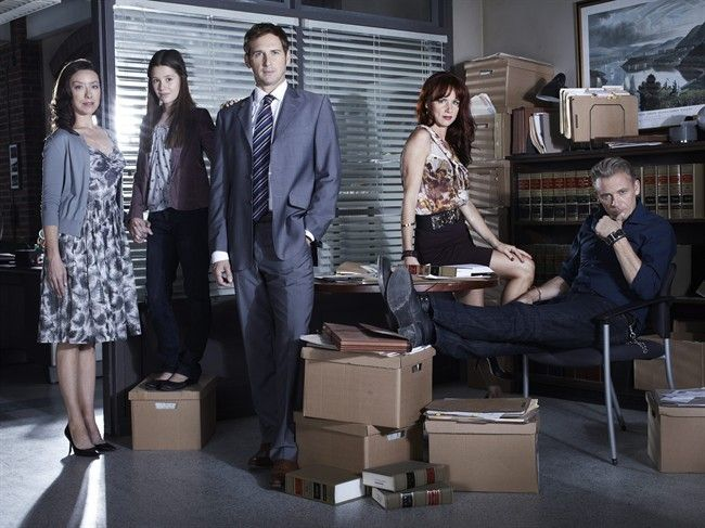The Firm. Love this show. Good job on killing it NBC.