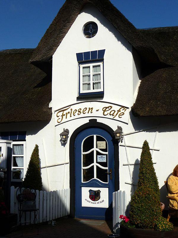 Café in Nebel auf Amrum