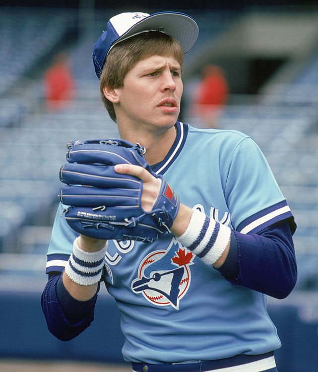 Before he won NBA Championships, Celtics' Danny Ainge played ball for the Toronto Blue Jays.