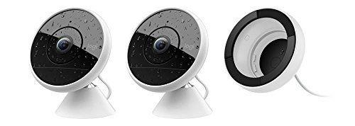 Logitech – Caméra de Surveillance Circle 2: 2 caméras filaires: placez-les où vous le souhaitez, à l'intérieur comme à l'extérieur, pour…