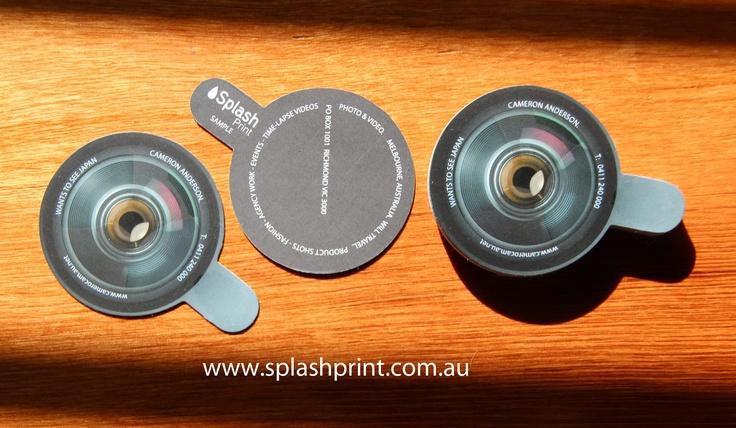 Die Cut Business cards by  www.splashprint.com.au