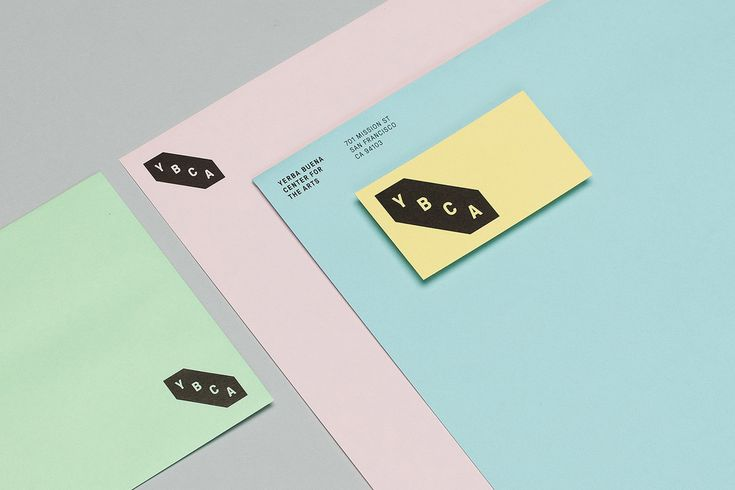 Yerba Buena Center for the Arts branding by @Manual