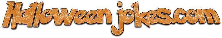Cute Orange Halloween Jokes dot com Banner