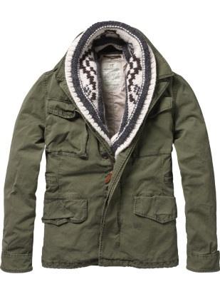 military jacket / Scotch  Soda