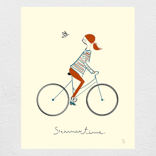 Image of Summertime Screen Print