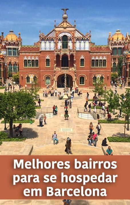 Veja aqui a nossa seleção dos melhores bairros para se hospedar em Barcelona, sugestões de hotéis e hostels e dicas especiais de moradoras.