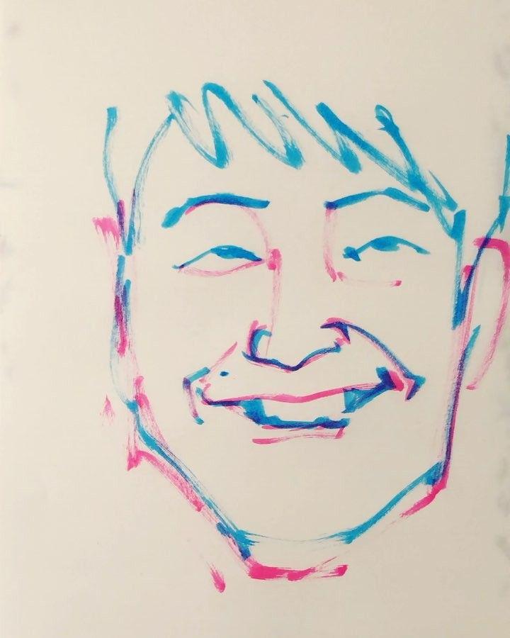 いいね!25件、コメント1件 ― torao fujimotoさん(@1mindraw)のInstagramアカウント: 「#hoshinogen #星野源 #musician #ミュージシャン #actor #俳優 #SAKEROCK #サケロック #otonakeikaku #大人計画 #19810128…」