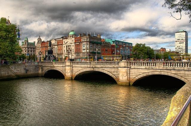 Dublin, Ireland (O'Connell Bridge)