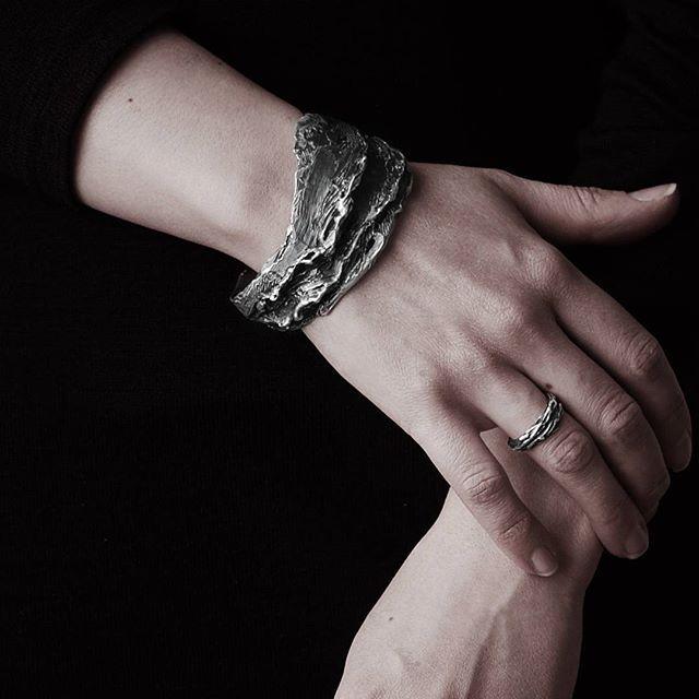 Silver bracelet/ SHULE jewelry.