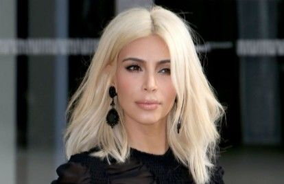 Kim Kardashian Paid Tons of Money for Platinum Blonde Hair | Celebuzz
