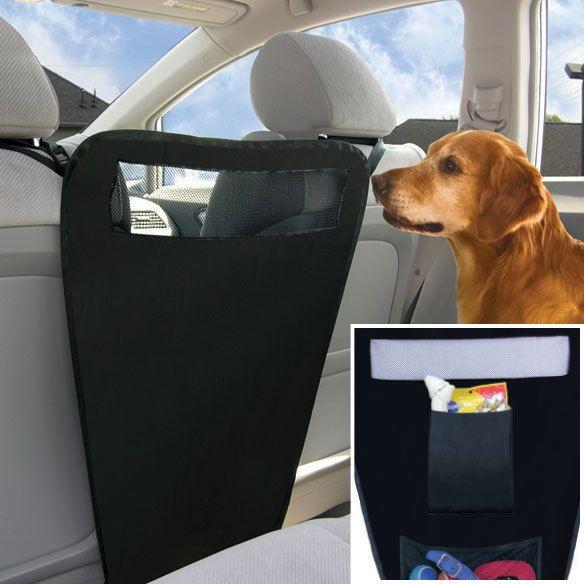Auto Pet Barrier - Safe Driving Pet Car Barrier - DOG CAR BARRIER - Pet Supplies #CarolWrightGifts