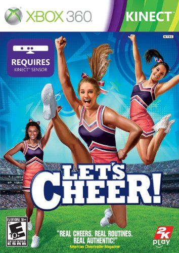 Let's Cheer XBOX 360 Kinect game - From the article: Great Gifts for Cheerleaders: http://www.squidoo.com/gifts-for-cheerleaders
