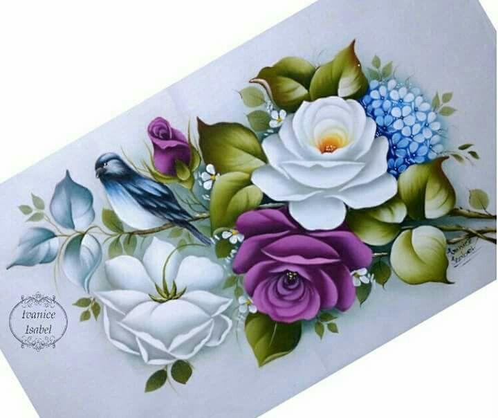 Pin de azucena camargo valle en pintura en tela - Pintura en tela motivos navidenos ...
