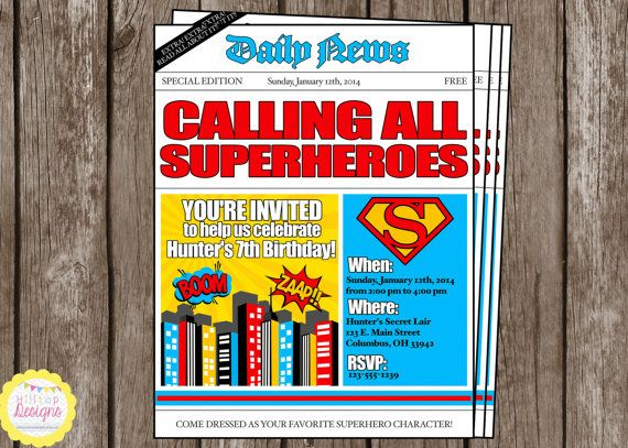Superman Baby Shower Invitations as perfect invitations design