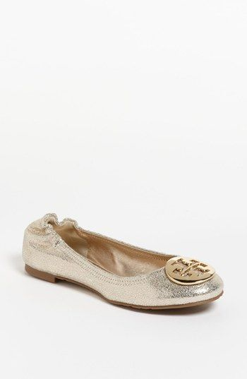 Tory Burch Reva Flat  Just put me on and wear me everyday this summer.  Well, maybe leave me at home for the beach.