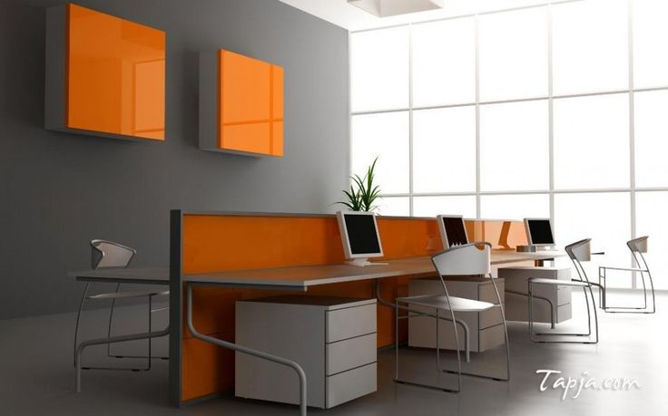 392 Best Home Office Images On Pinterest Modern Offices