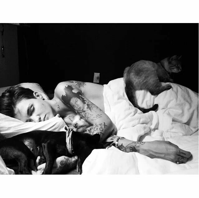 Ruby Rose ignores fiancee's request for no animals in bed